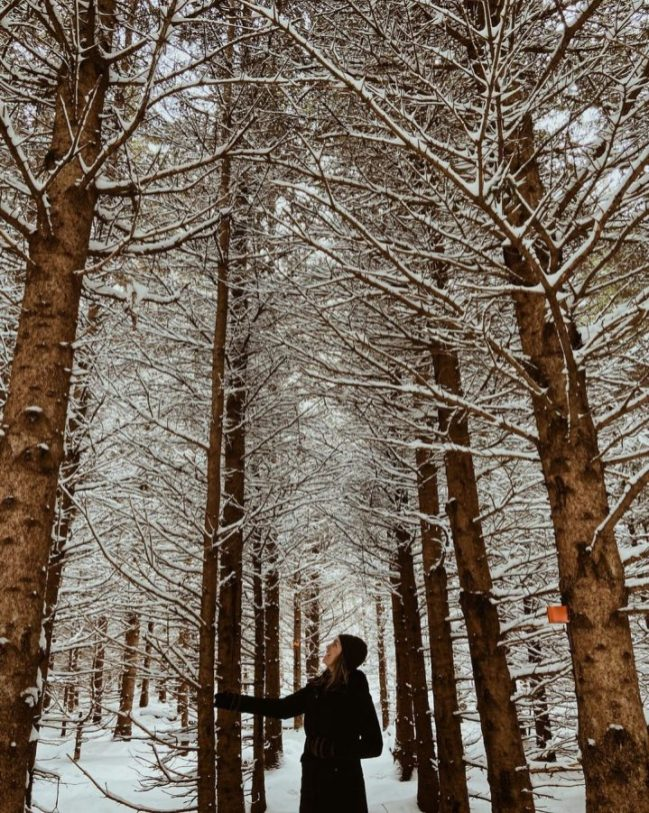 Winter River Trail | Photo by Kathleen Montgomery