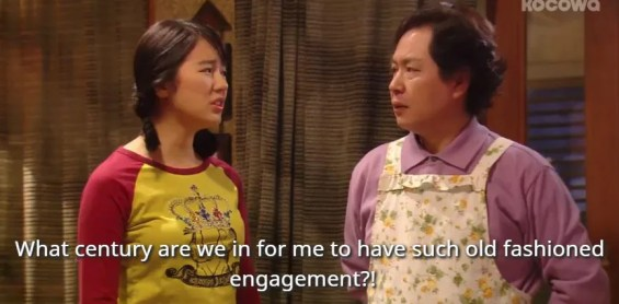 Shin Chae-Gyeong not happy with the proposal Princess Hours