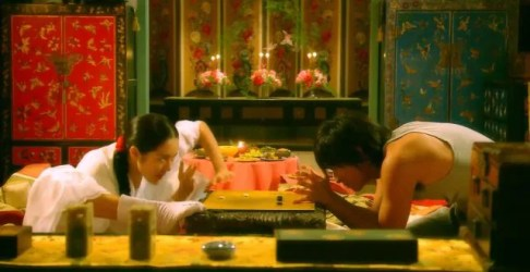 Goong/Princess Hours. Main couple playing chess.