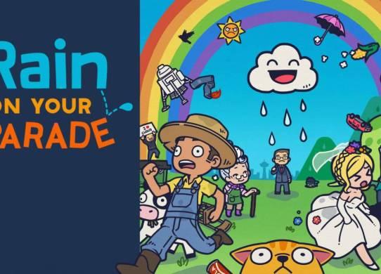 Rain on your Parade: SIeben Tage Regenwetter