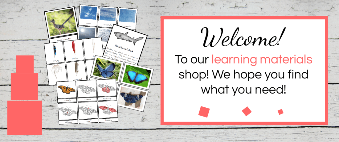 Welcome to Mommyhood shop #printables, #montessoriprintables