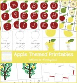 Apple themed printable pack