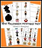 Free Halloween printables for preschoolers