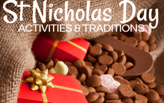 St Nicholas Day Activities and Traditions! Learn more on the blog! #sinterklaas #stnicholasday #stnicholasdaymontessori