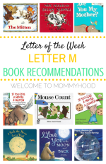 Letter Mm book recommendations
