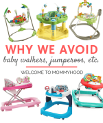 Why we don't jumparoos and similar baby products