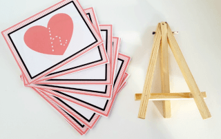 Valentine's Day Letter Cards