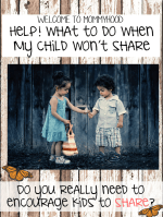Why I don't make my son share