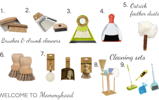 Kids Cleaning Set: what you need for a Montessori cleaning set