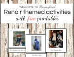 Art Projects for Kids: Montessori Renoir Printables and Activities