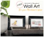 Free Wall Art for Montessori Homes Printables