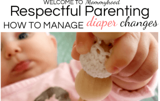 Respectful Parenting: Diaper Changes #montessoriathome #montessorihome