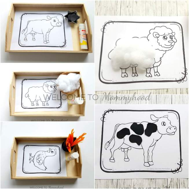 Farm Animal Activity Pages - Farm themed Printables Welcome to Mommyhood