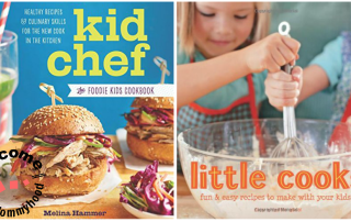 Cooking with kids: Fantastic Kids Recipe Books