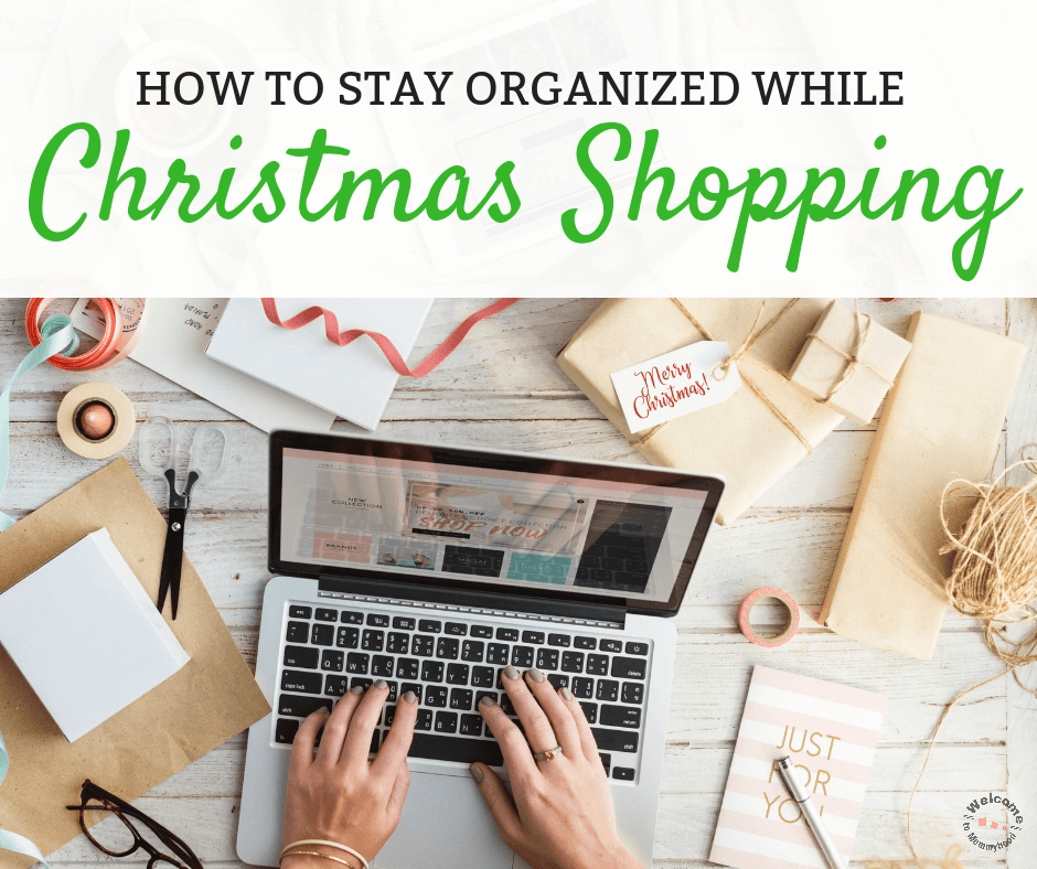 How to Stay Organized When Christmas Shopping