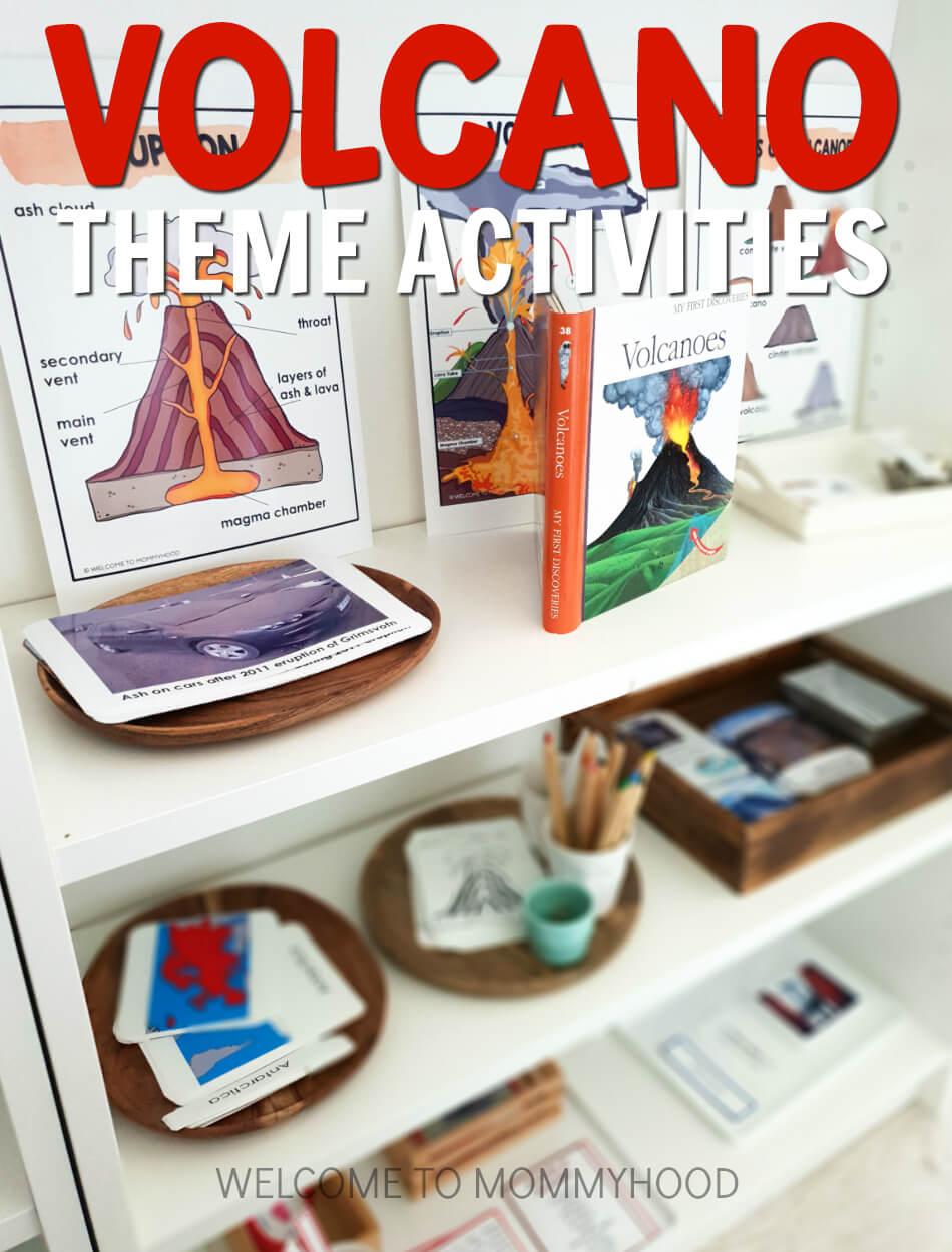 Volcano Theme Activities