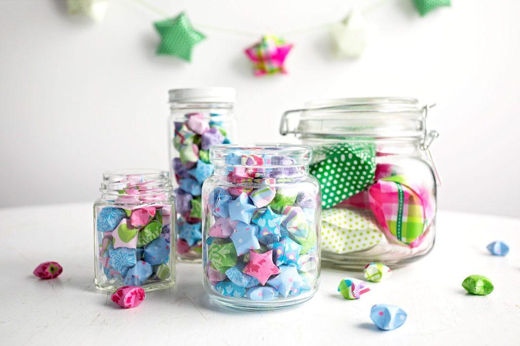 Lucky Stars in a jar