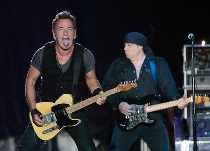 Bruce at the 'Roo 2009