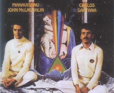 Carlos Santana and John McLaughlin Album Cover