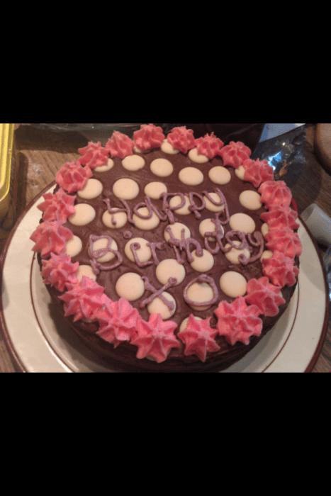 Tilly's Birthday cake