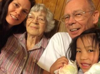 Visit with Greatgrandmother and Granddaddy
