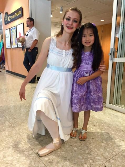 Peter Pan ballet - Wendy
