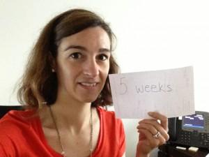 5 Weeks!