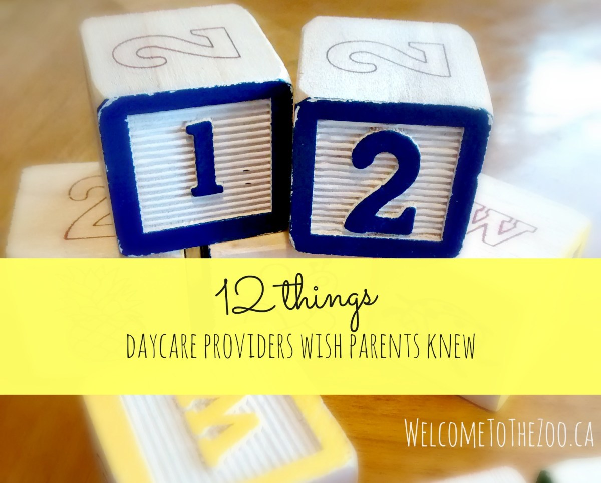 12 Things Daycare Providers Wish Parents Knew