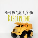 Home Daycare Discipline