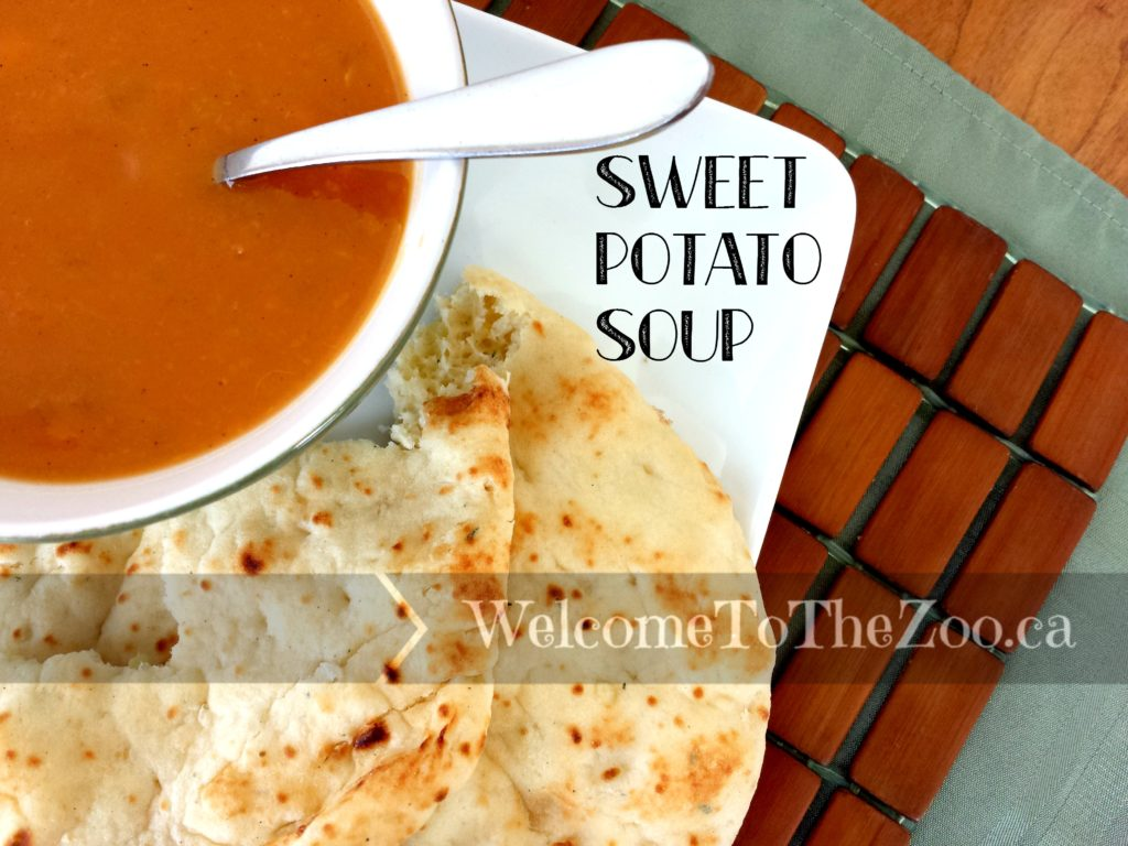 Sweet Potato Soup {Dairy Free}