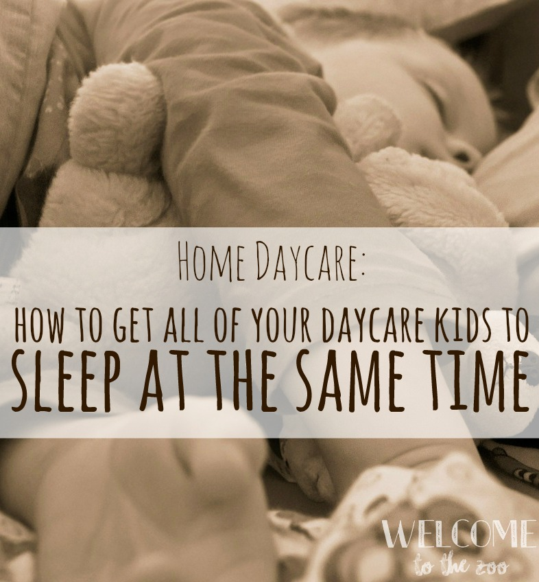 Home Daycare: How To Get Five Kids To Take A Two Hour Nap ... In The Same Room