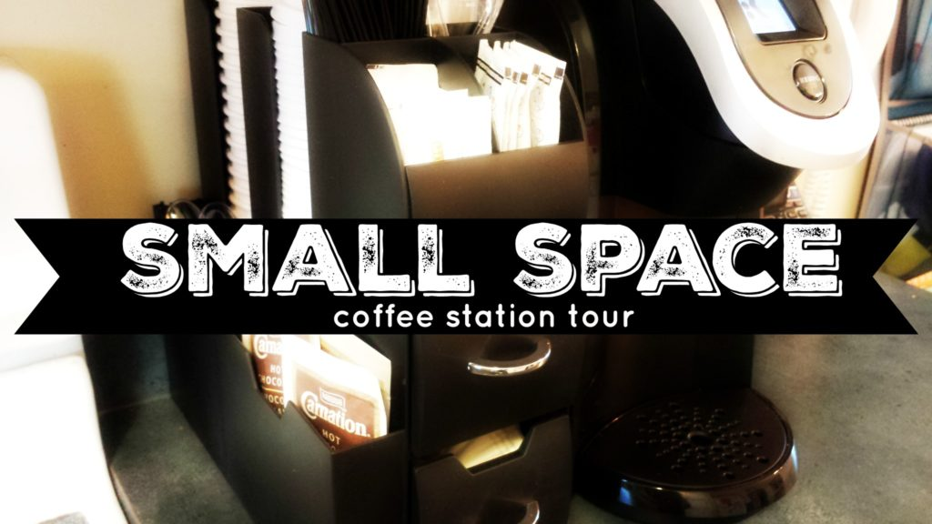 Tiny Craftsman Comes With Espresso Station: Small Space Coffee Station