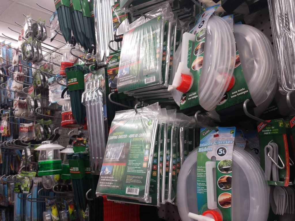 Dollar Store Camping Supplies Welcome To The Zoo