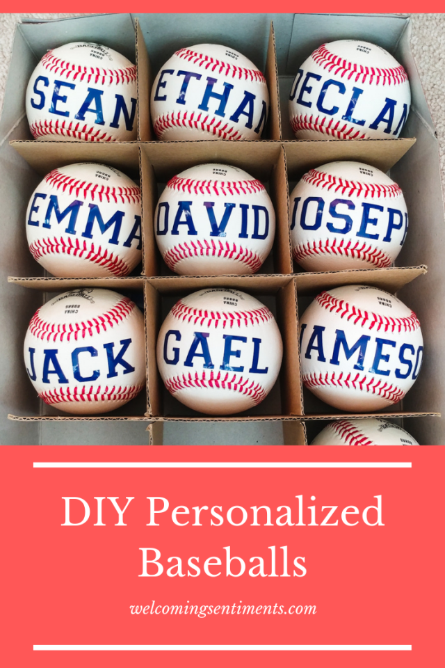 baseball parade, personalized baseball