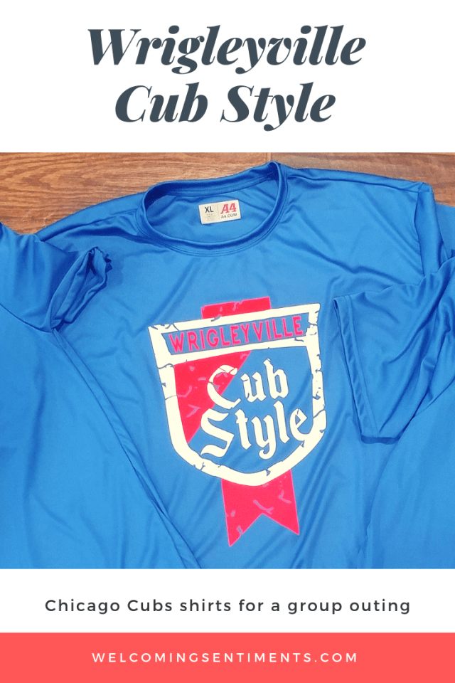 Wrigleyville, Cub Style (Old Style) Chicago Cubs custom shirt