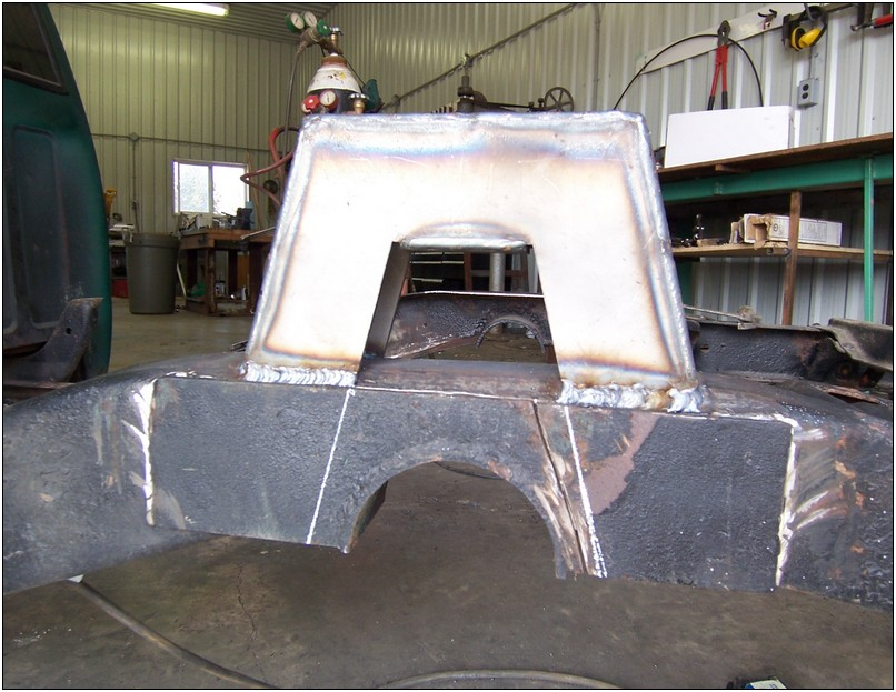 Installing a rear step notch kit   Welder Series Inc