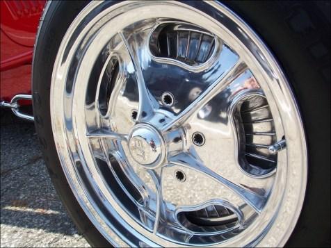 Clean spline drive wheel bolts.