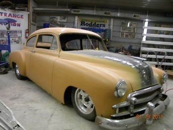 Strange Motion 1950 Fleetline for sale