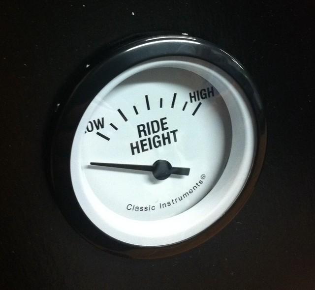 Ride height gauge