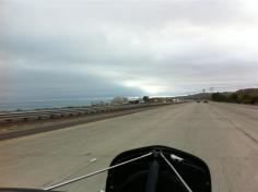This was the extent of our view of the Pacific Ocean on I-5. Got to our hotel, Doubletree Claremont, about 8:00 pm. The other Road Tour members have had other activities for the past 2 days and now we're back with them.