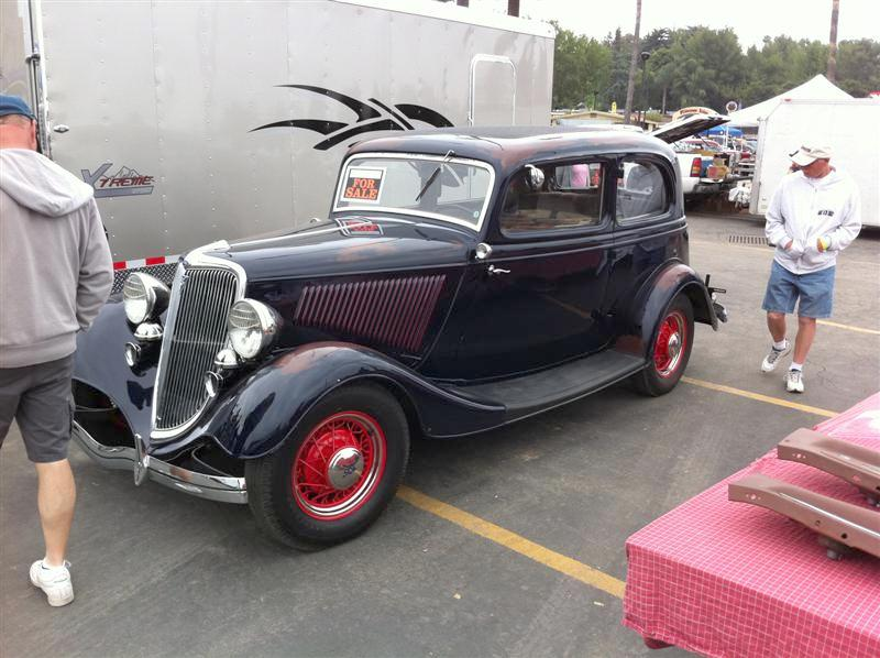 At the Swap Meet - '34 Ford Vicky $55,000