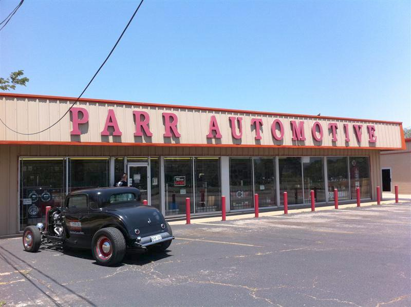 Parr Automotive in Oklahoma City.