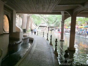 Another view of the Riverwalk. Looking forward to more tomorrow!