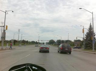 The Canadian side of the border at Windsor ON looks a bit different than the US side at Detroit. They have many differences and population is a major one. I read that Detroit has 50% of Michigan's population living in it, while Windsor INCLUDING Sarnia has just 2% of Ontario's population.