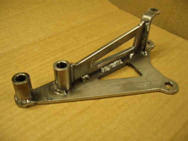 Welded Alternator Bracket 02