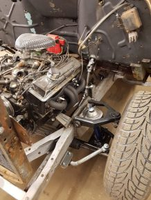 Welder Series Mustang II crossmember