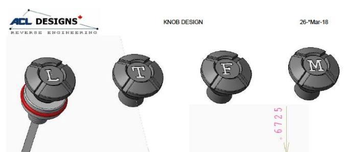 knob design