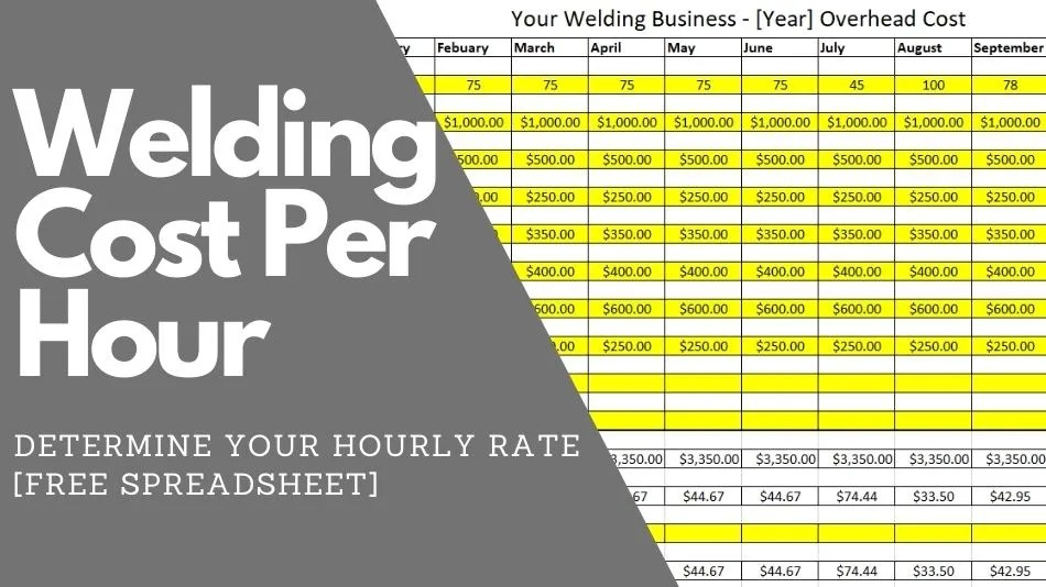 How Much Should You Charge for Welding per Hour [Download]