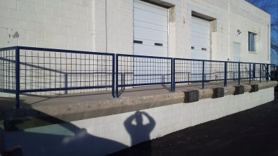 Industrial Dock Railing