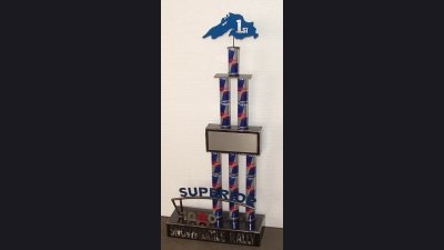 Red Bull - 30 in tall award